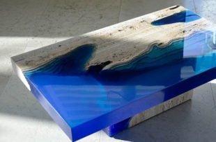 Renkli Epoksi Masa Yapımı